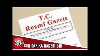 Son Dakika: Kritik atama kararları Resmi Gazete'de yayınlandı...