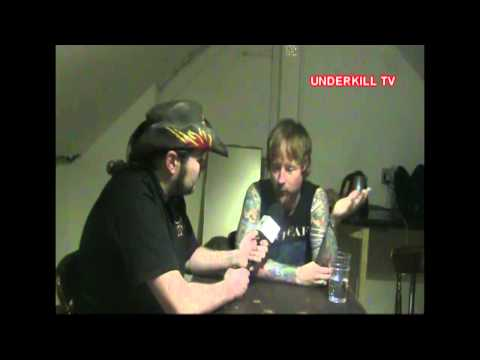 DROWNING POOL STEVIE BENTON INTERVIEW 2013  UNDERKILL TV EP 63