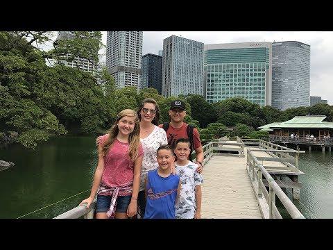 Yoshida family vacation to Japan 2017