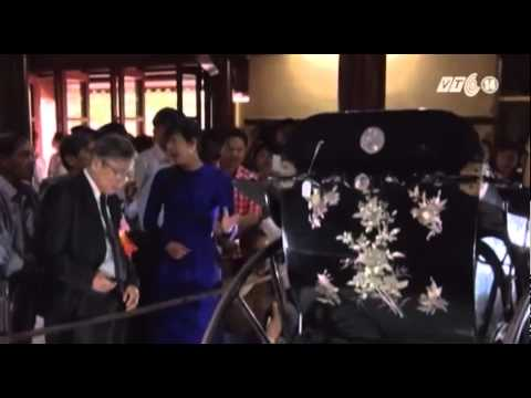VTC14_Xe kéo 108 tuổi của vua Thành Thái về lại hoàng cung Huế