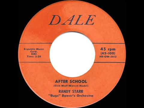 1957 HITS ARCHIVE: After School - Randy Starr