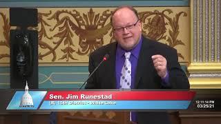 Sen. Runestad on data and Gov. Whitmer's nursing home policy