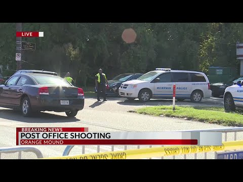 LIVE: Shooting at Orange Mound post office in Memphis