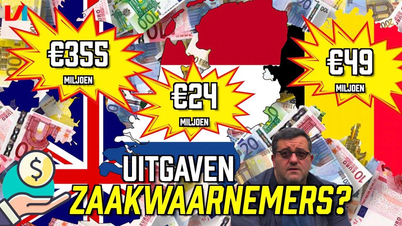 Wat Betaalt Jouw Club Aan Zaakwaarnemers? 'AS Roma Betaalt Meer Dan Hele Eredivisie'