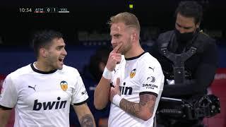 Spektakularan Gol Uroša Račića sa 25 Metara   Atletico vs Valencia   SPORT KLUB FUDBAL