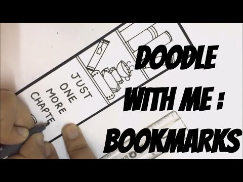 Doodle with me : Bookmarks | PART - 1