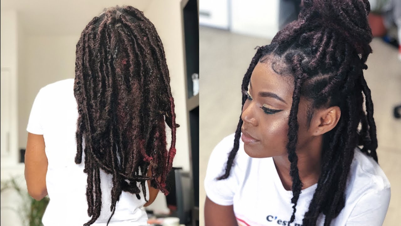 The most realistic faux locs | HOW TO