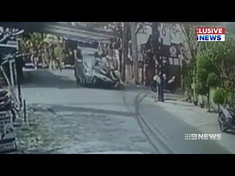 Bali Scooter Crash   9 News Perth