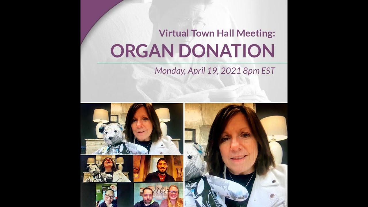 Mullens Miracles - Virtual Town Hall Meeting on Organ Donation - 4-19-21