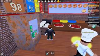 Roblox's Work at a Pizza Place Game-play (read desc)