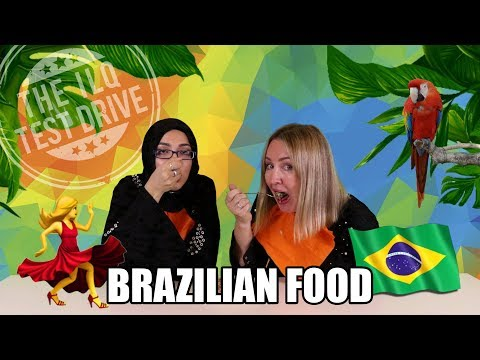 Obrigado Brazil! Trying food from the land of Carnival!