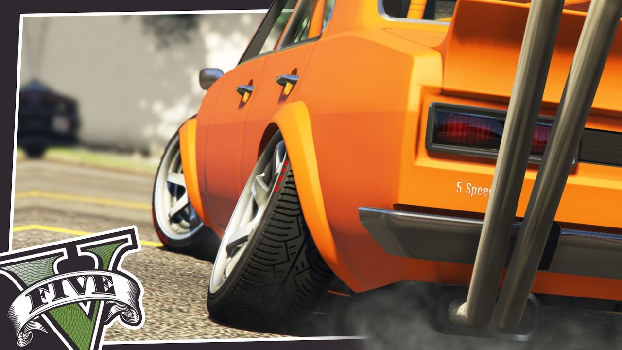 ADJUST CAMBER & POKE IN GAME! (STANCE MOD)