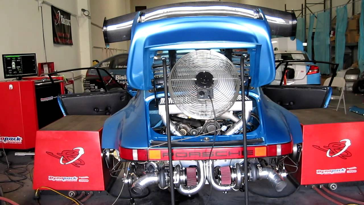 Bisimoto Porsche 911 Twin Turbo: low boost tuning - YouTube