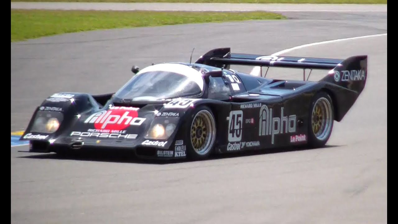 porsche 962c 1990 groupe c engine sound le mans classic 2016 youtube. Black Bedroom Furniture Sets. Home Design Ideas