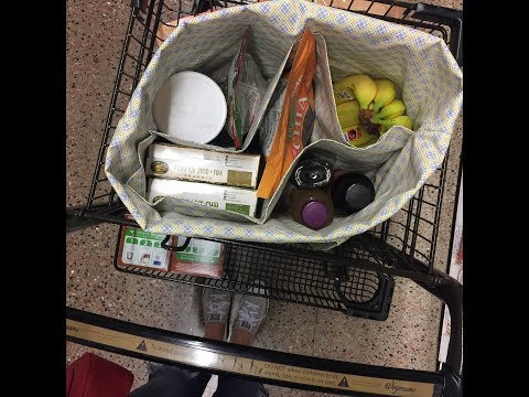 How to sew the Ultimate Reusable Grocery Shopping Tote Bag