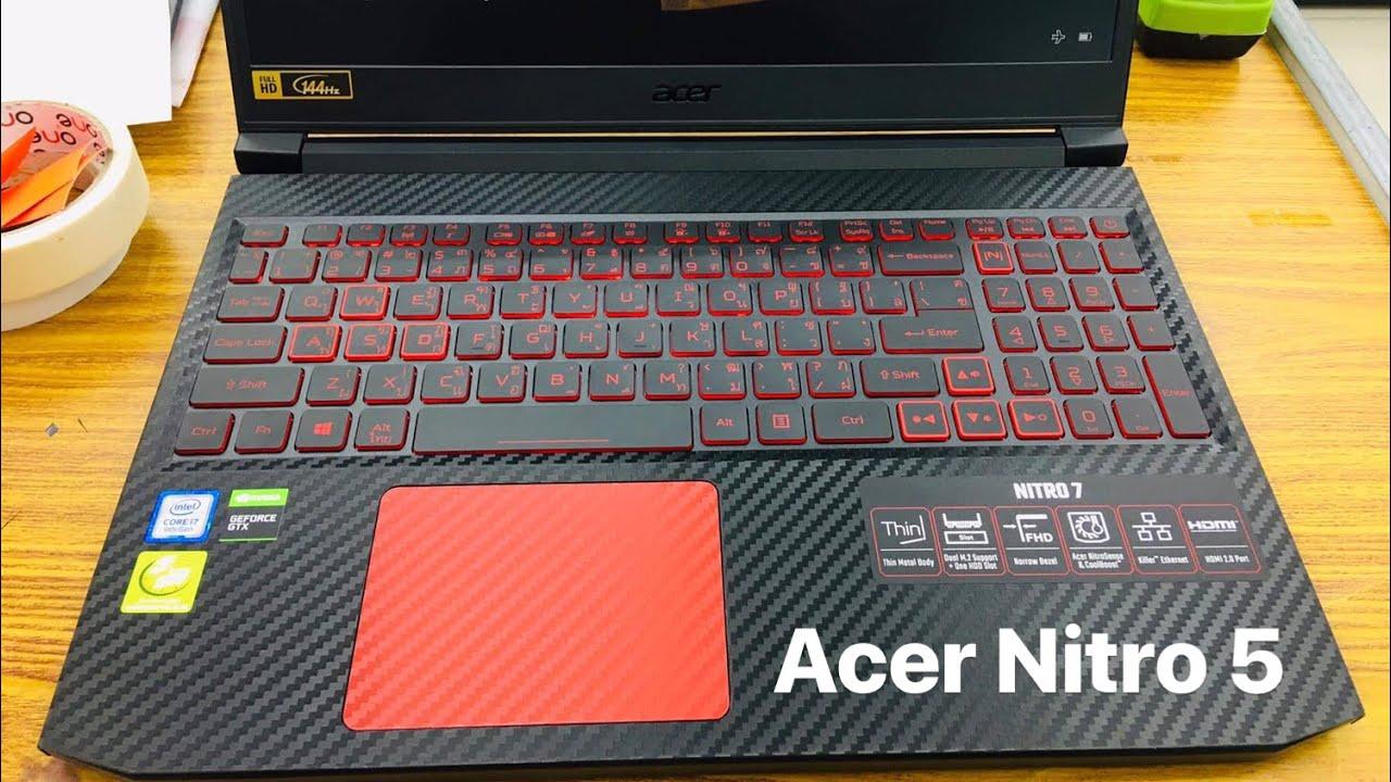 ติดฟิล์มกันรอย Acer Nitro