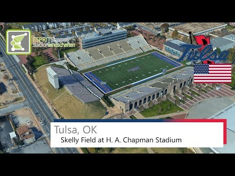 Tulsa, OK - Skelly Field at H. A. Chapman Stadium / 2016