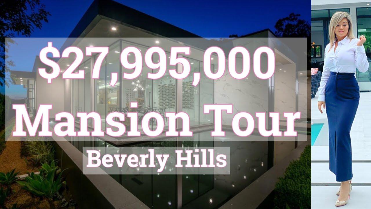 $27,995,000   Mansion Tour   Beverly Hills