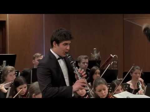 Claude Debussy - First Rhapsody for Clarinet and Orchestra