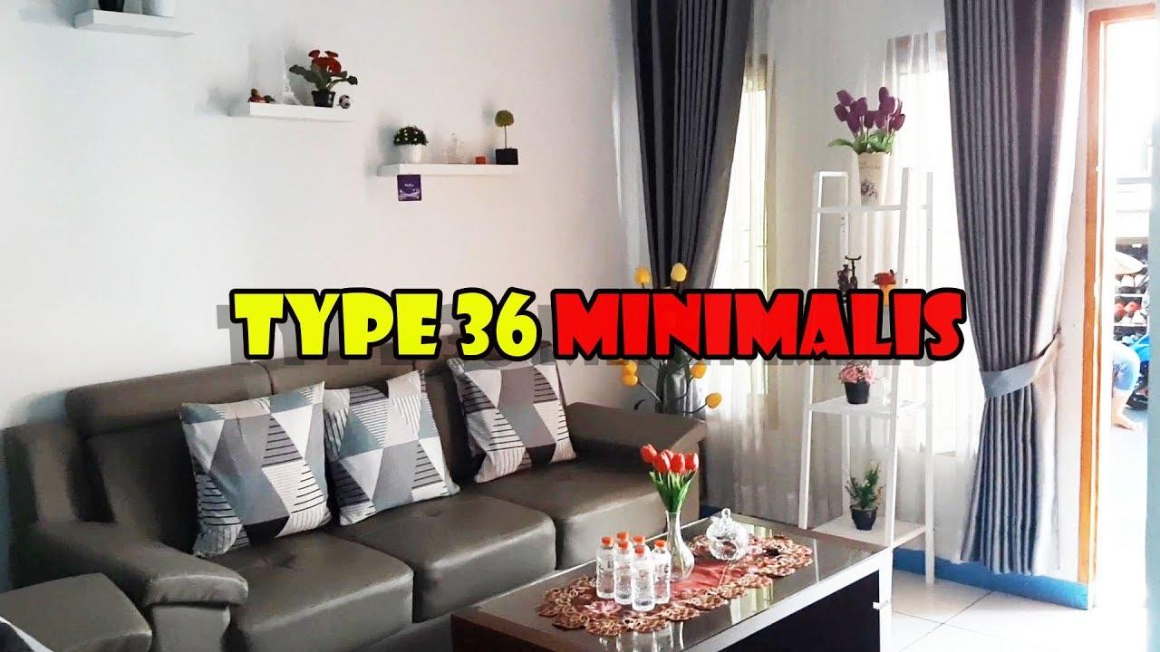 House Tour Rumah Minimalis Type 36 Kpr Bersubsidi Desain Rumah Terbaru 2020 Youtube