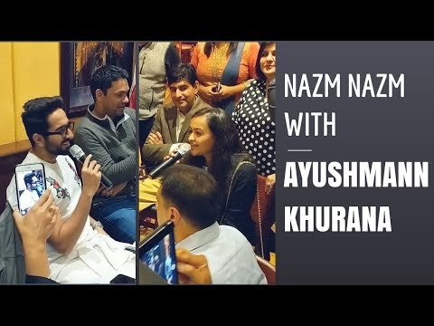 Nazm Nazm with Ayushman Khurana   Live Acoustic   ft Ayushman Khurana and Anumeha Bhasker
