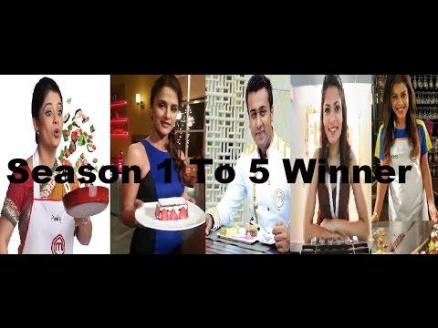 Masterchef India Season 1 To 5 Winner Name & Age Star Plus