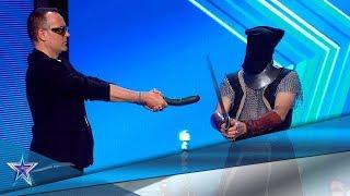 Estos HERMANOS ASUSTAN al JURADO con su MAGIA OSCURA | Audiciones 3 | Got Talent España 5 (2019)