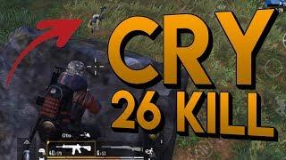 26 KILL GAMEPLAY | PUBG Mobile Solo vs Squad (1v4)