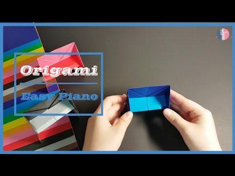 DIY Easy Origami Piano | Easy Origami | Origami For Kids