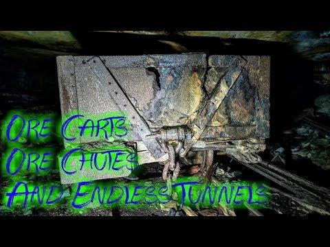 Massive Abandoned Coal Mine - Ore Carts Still Inside