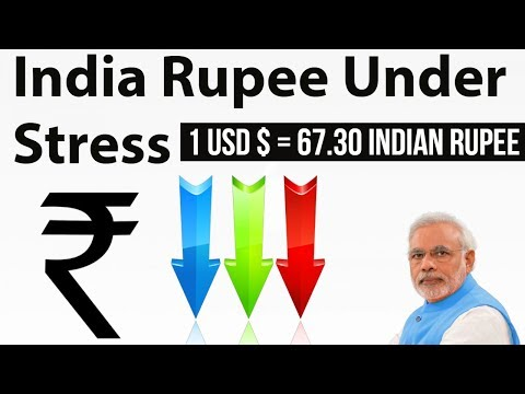 Why is Indian Rupee weakening against Dollar , slides to 15-month low - Economy Current affairs