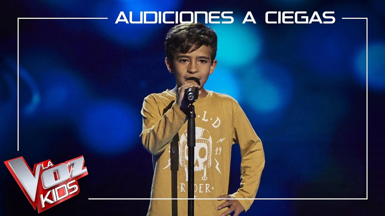 Download Carlos Prieto canta 'No me lo creo'   Audiciones a ciegas   La Voz Kids Antena 3 2021