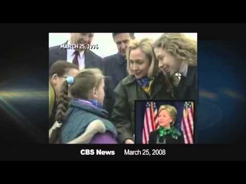Flashback: Hillary Clinton Under 'Sniper Fire' In Bosnia