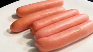 Как правильно варить сосиски#How to cook sausages correctly