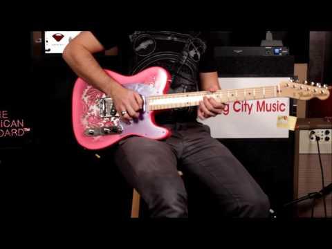 Fender Pink Paisley Telecaster Demo - Swing City Music