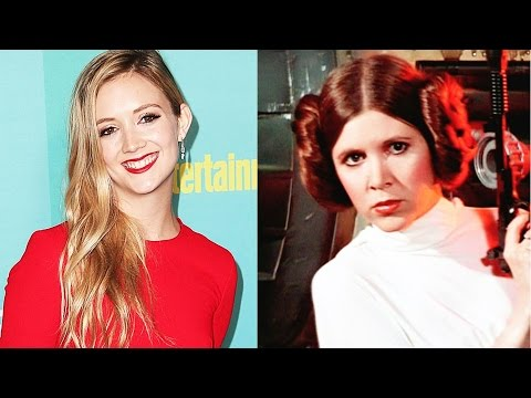 "Billie Lourd reenacted Carrie Fisher​'s ""Star Wars""​ monologue"