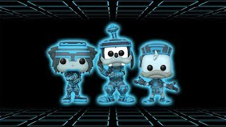 GS Exclusive Tron Sora, Goofy and Donald Funko Pop Review