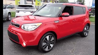 2015 Kia Soul Exclaim Walkaround, Start up, Tour and Overview
