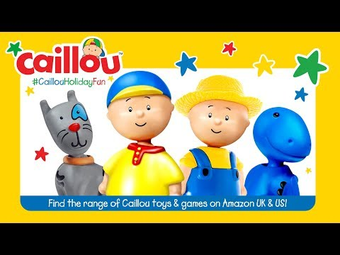 ABCD with Caillou - NEW A to Z Puzzle - Toys for kids ADVERTISEMENT