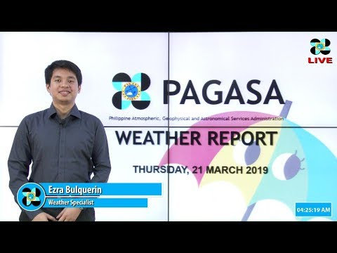 Public Weather Forecast Issued at 4:00 AM March 21, 2019