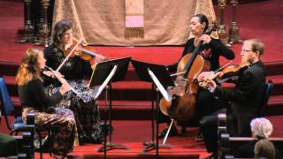Midsummer Mozart Festival Orchestra performs Mozart Oboe Quartet in F major, K.370