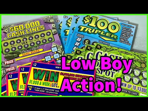$100 Tripler, $60,000 Cash Lines & More New York Lottery Scratch Off Tickets