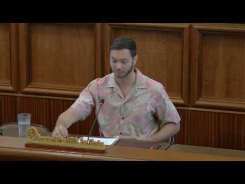 Public Hearing - Michael F.Q. San Nicolas - April 4, 2017
