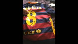 gogoalshop.com review of 15/16 Barcelona Home jersey