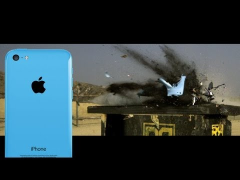 Literal camera shootout tests iPhone 5s slo-mo by shooting iPhone 5c