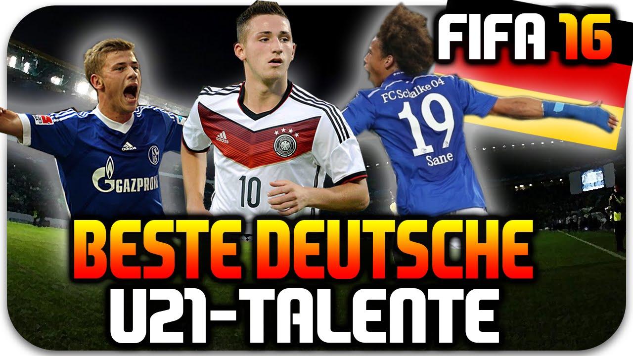 Fifa 16 Beste Deutsche U21 Talente Potenzial Spielerentwicklung