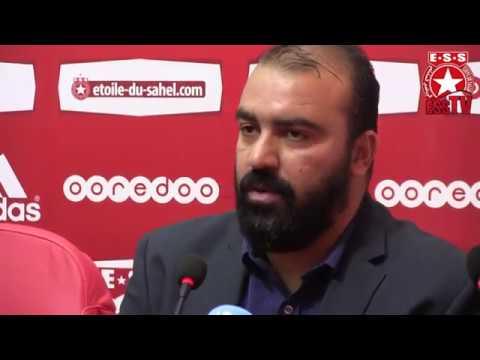 Foot - Conférence de presse du nouvel entraîneur de l'Etoile Kheireddine Madoui