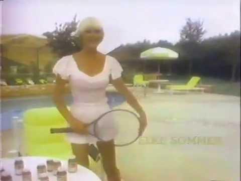 Elke Sommer for Naturite 1981 TV commercial