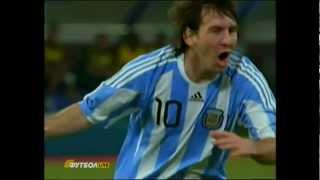 Download Lionel Messi Three beautiful goals 2012 MP3 song and Music Video