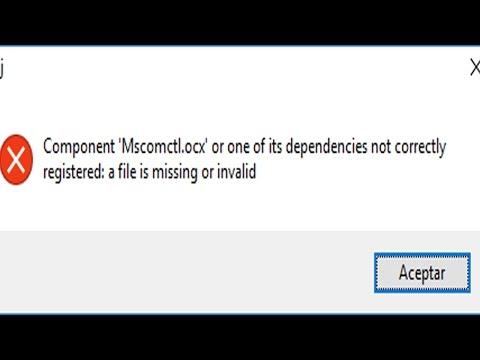 component msadodc.ocx